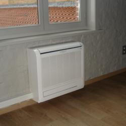 Lucht/lucht warmtepompen in huis